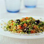 Mediterranean Salad w/ Grilled Eggplant