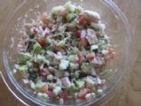 SOUTH BEACH CHOPPED SALAD WITH TUNA