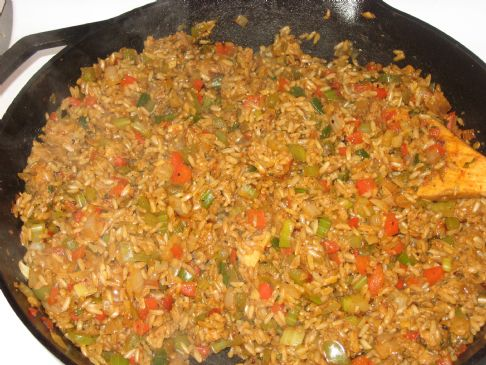 Vegetarian Dirty Rice Recipe | SparkRecipes