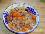 garbanzo ham soup