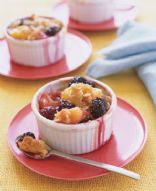 Blackberry-Peach Crisp