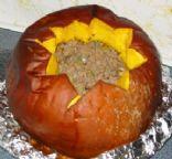 Pumpkin Beef Casserole