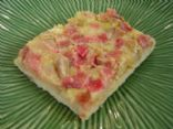 Healthy Strawberry-Rhubarb Bar