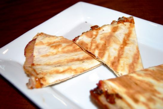 COOKING WITH CAITLIN'S Stone Fruit Quesadilla