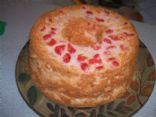 Cherry Angel Food Cake 