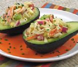 Crab Stuffed Avocado
