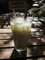 Lynneth's Iced Matcha Soy Milk
