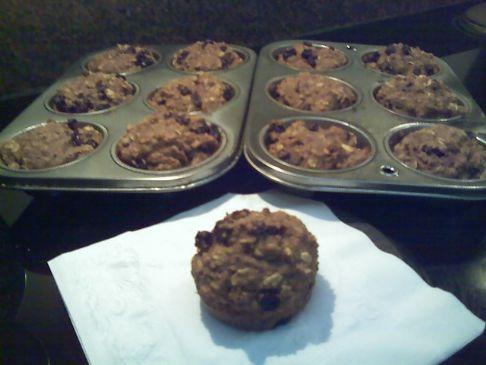 High Fiber, High Protein Muffins
