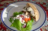 Chicken Gyros Pita Sandwiches