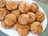 Peanut Butter Cookies_No Flour_No Sugar_No Yolks Added