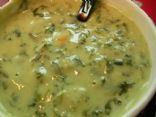 Goldilocks' Gourmet Spinach Soup