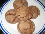 Chocolate Sugar Cookies, Low Calorie & Low Fat