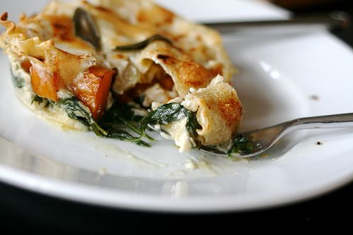 Spinach & Butternut Squash Lasagna