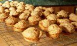 whole wheat banana nut muffins