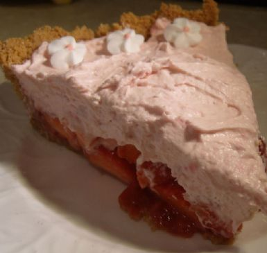 Pie, Strawberries and Cream