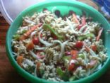 Healthy Vegetarian Pasta Salad  