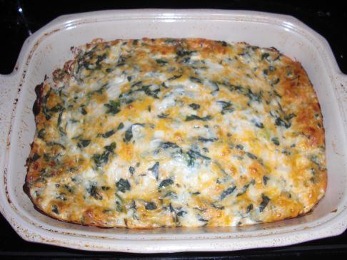 Spinach and Onion Casserole