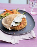 Greek-Style Quinoa Burgers