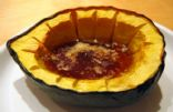 Acorn Squash with Cinnamon and Honey