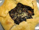 Mushroom and Onion Crostata