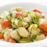 Gnocchi with Zucchini and Cherry Tomatoes
