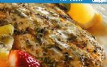 Herb-Crusted Haddock with Garlic-Basil Sauce