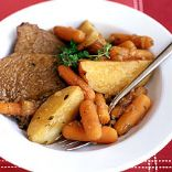 Yankee Pot Roast Dinner