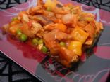 Sweet N' Sour Deep Fried Tofu & Veggies