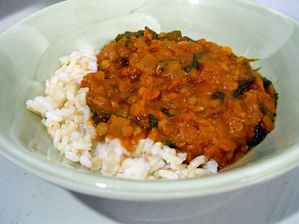 Mesir W'et - Spicy Ethiopian Lentil Stew