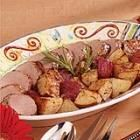 Pork Tenderloin Roast with Potatoes