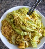 Spicy Yellow Prawn Noodles
