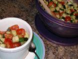Seseme Cucumber Salad