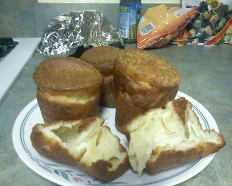 Yorkshire Pudding or Popovers (low fat, low sodium, lactose free)