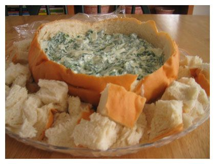 *^*Spinach Dip*^*