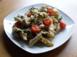 Spinach and cottage cheese pasta bake