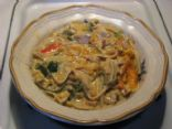 Linguini Chicken Casserole