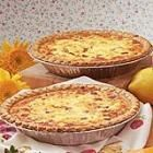 Ham & 2 cheese quiche