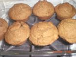 Vegan Whole Wheat Muffins