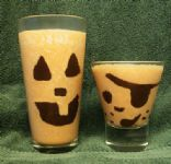 Jack o'Lantern Sweet Potato Smoothie