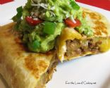 Beef & Bean Chimichangas