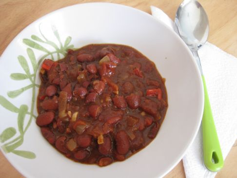 Better Than Your Average Vegetarian Chili