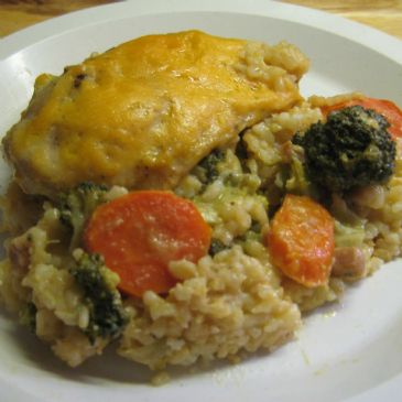 Mo's Chicken and Rice Casserole