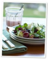 Image of Arugula-cherry Salad W/ Blue Cheese, Spark Recipes
