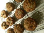 Banana Oat Almond Muffin