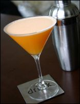 Orange Creamsicle Martini