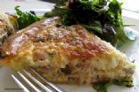 Rachel's Quiche Lorraine with Mushrooms