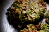 Beet Greens cakes