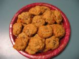 Persimmon cookies lite