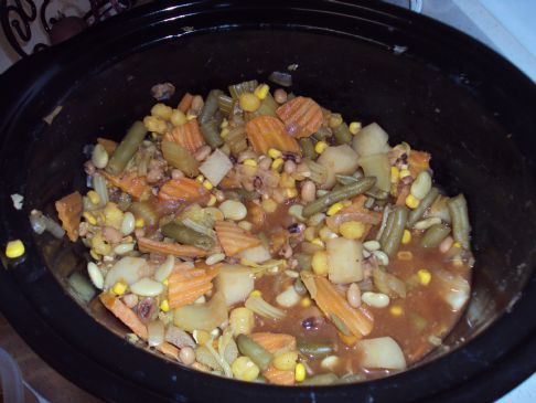 Slow cooker Veggie Stew
