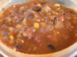 Fiber filled Taco Soup